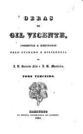 Obras de Gil Vicente: Das farcʹas. Das obras varias