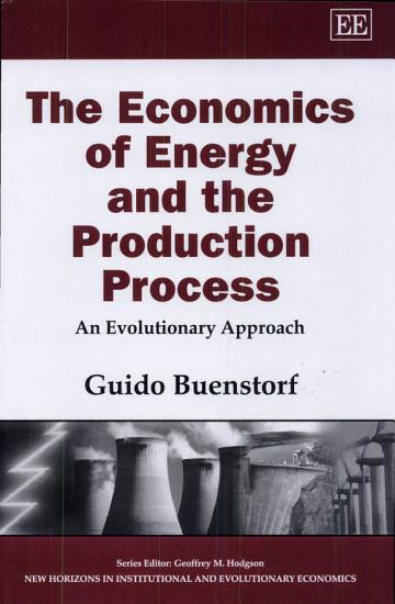 The Economics of Energy and the Production Process PDF