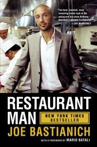 Restaurant Man Book