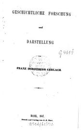 Historische Studien: Geschichtliche Forschung und Darstellung, Band 2