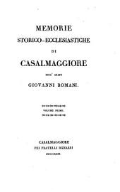 Memorie storico-ecclesiastiche di Casalmaggiore: 7-9