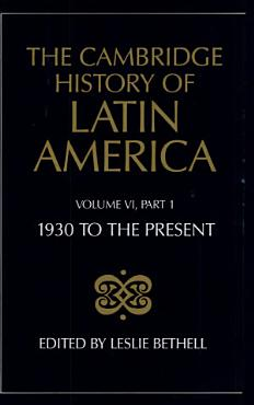 The Cambridge History of Latin America PDF