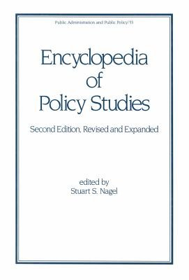 Encyclopedia of Policy Studies  Second Edition  PDF