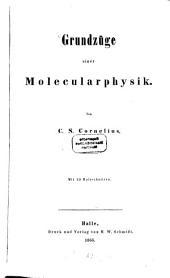 Grundzüge einer Molecularphysik