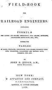 Field-book for Railroad Engineers
