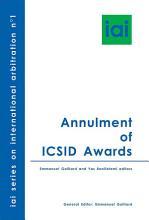 Annulment of ICSID Awards PDF