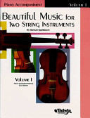 Beautiful Music for Two String Instruments  Bk 1  Piano Acc  PDF