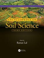 Encyclopedia of Soil Science PDF