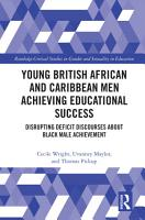 Young British African and Caribbean Men Achieving Educational Success PDF