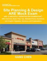 Site Planning   Design ARE Mock Exam  SPD of Architect Registration Exam  PDF