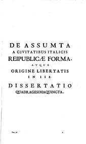 Antiquitates Italicae medii aevi: Volume 4