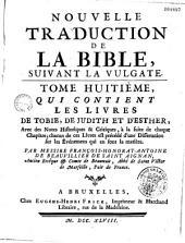 Nouvelle traduction de la bible suivant la vulgate, par de Beauvilliers de Saint-Bignan