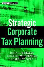 Strategic Corporate Tax Planning PDF