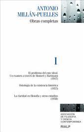 Millán-Puelles. I. Obras completas
