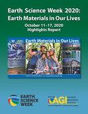 Earth Science Week 2020