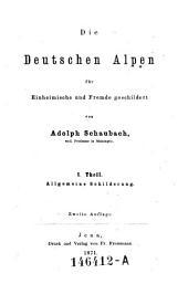 Allgemeine Schilderung: Volume 1