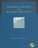 Probability Models for Economic Decisions PDF