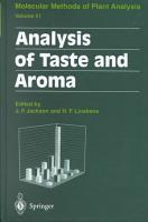 Analysis of Taste and Aroma PDF