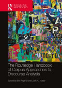 The Routledge Handbook of Corpus Approaches to Discourse Analysis PDF
