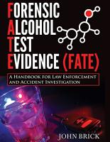 FORENSIC ALCOHOL TEST EVIDENCE  FATE  PDF