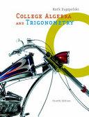 College Algebra and Trigonometry PDF