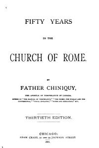 Fifty Years in the Church of Rome PDF