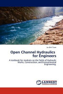 Open Channel Hydraulics for Engineers PDF