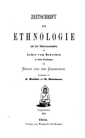 Beitr  ge zur Ethnologie und darauf begr  ndete Studien PDF