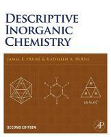 Descriptive Inorganic Chemistry PDF
