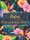 Psalms Coloring Book for Adults