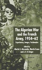 Algerian War and the French Army, 1954-62