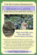 The Southern Gardener's Book Of Lists