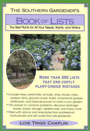 The Southern Gardener s Book Of Lists PDF