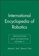 International Encyclopedia of Robotics