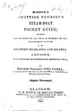 McPhun's Scottish Tourist's Steam-Boat Pocket Guide ... A new edition. Eighth thousand. MS. notes