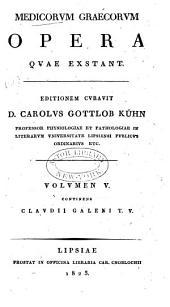Medicorum Graecorum opera quae exstant: Τόμος 5,Τεύχος 5