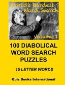 Worlds Hardest Word Search Vol  1