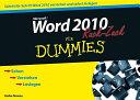 Word 2010 f  r Dummies Ruck Zuck PDF