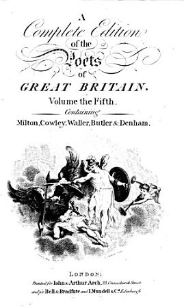 The Works of the British Poets PDF