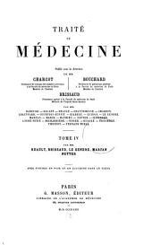 Traité de médecine: Volume4