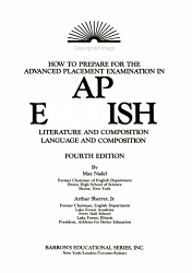 Barron S How To Prepare For The Advanced Placement Examination English Book PDF