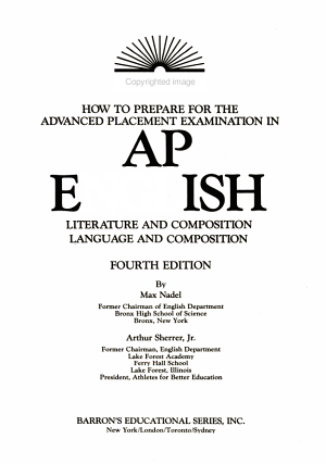Barron s How to Prepare for the Advanced Placement Examination   English