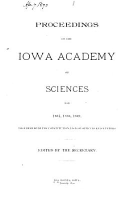 The Proceedings of the Iowa Academy of Science PDF