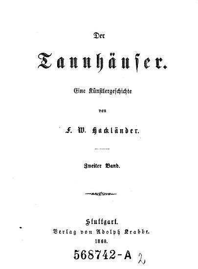 Der Tannhauser PDF
