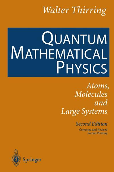 Quantum Mathematical Physics Pdf Book