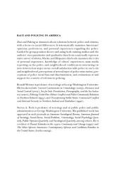 Race And Policing In America Book PDF