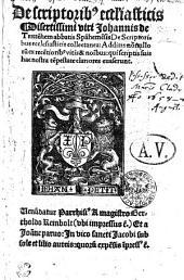 De scriptoribus ecclesiasticis