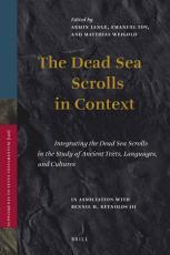 The Dead Sea Scrolls in Context