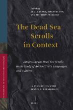 The Dead Sea Scrolls in Context PDF