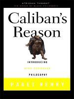 Caliban s Reason PDF